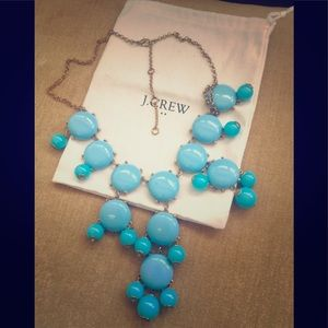 Jcrew blue bubble necklace
